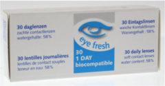 Eye Fresh Eyefresh Daglenzen -3.50 1x30 Stuks