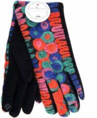 Rode Winter Handschoenen Chic Couleur (koude kleuren) van BellaBelga