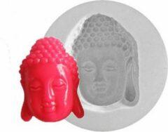 Witte Siliconen mal - boeddha - SilliCreations