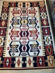 Sunar Home Kelim vloerkleed Asmali -Kelim tapijt -Kelim kleed - Oosterse Vloerkleed - 140x210 cm