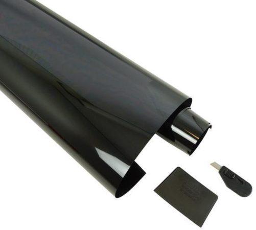 Afbeelding van Carpoint Raamfolie Voor Auto - 50x300 cm - Verduisterend