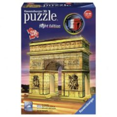 Ravensburger Arc de Triomphe Night Edition - 3D puzzel gebouw - 216 stukjes