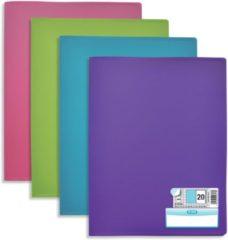 OXFORD Memphis presentatiealbum 20 tassen, geassorteerde kleuren style