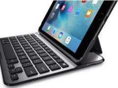 Belkin QODE Ultimate Lite Keyboard für iPad Mini 4, Schwarz