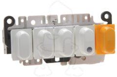 Miele Schalter (Drucktasten 5 Drucktasten weiß) für Waschmaschine 1974763