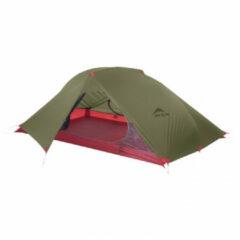 MSR - Carbon Reflex 2 Tent V5 - 2-personen-tent maat 213 x 127 x 86 cm, olijfgroen/purper