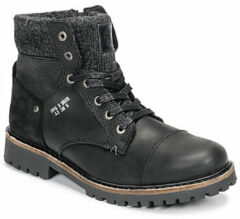 Zwarte Boots en enkellaarsjes AHA518E6L by Bullboxer