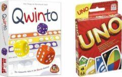 White goblin Spelvoordeelset Qwinto & Uno - Kaartspel