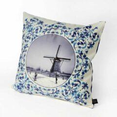 HUGS Indoor 50x50 Delfts blauw molen