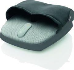 Grijze Medisana voetmassageapparaat FM 885, shiatsumassage van voetzolen en hielen