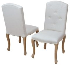 Möbel direkt online Moebel direkt online Polsterstühle 2 Stück Polsterstuhl im Set