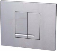 Ben Pro Flush Style bedieningspaneel 2-knops tbv BPF/BPSF glans chroom
