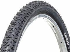 Creme witte AMIGO Ortem Race buitenband - Fietsband 28 inch - ETRTO 50-622 - Crème