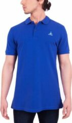 Marineblauwe BiggDesign Anemoss-Sailing- Poloshirt-Blauw-49X62cm-M AnemosS Heren T-shirt