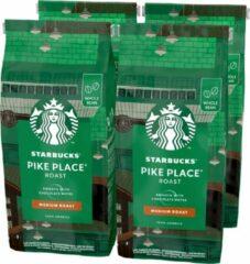 Starbucks Pike Place Medium Roast koffie - koffiebonen - 4 zakken à 450 gram