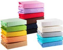 Donkergrijze Mega Beauty Shop® badstofhoes voor krukken werkstoel donker grijs - badstofhoes