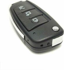 Zwarte Topsjop.nl Autosleutel Verborgen Spy Camera FullHD, Spycam met nachtzicht en bewegingsdetectie