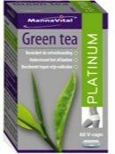 Groene Mannavital groen Tea Platinum Capsules 60st