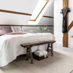 Zilveren EVA Interior Wollen vloerkleed Grijs - Cobble Stone - 200 x 280 cm - (L)