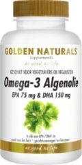 Golden Naturals Omega-3 algenolie liquid capsules 60 Capsules