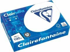 Witte Clairefontaine Clairalfa presentatiepapier A4 100 g pak van 500 vel