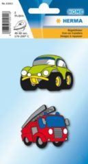 HERMA 2 pcs, 40-60s, 170-200°C, Iron on stickre cars (15011)