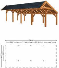 Trendhout | Kapschuur De Stee L 9800 | Combinatie 4