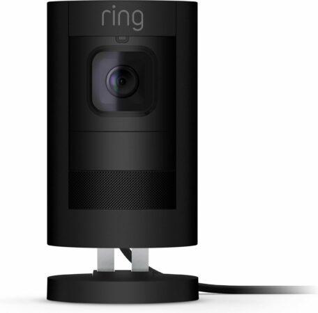 Afbeelding van Ring Stick Up Cam Elite Beveiligingscamera - Voor binnen & buiten - Bedraad - Zwart