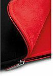 "Samsonite Laptophoes Airglow 14.1 "" Neopreen, polyester Zwart, rood 26 x 36 x 6 cm"
