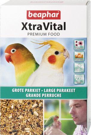 Afbeelding van Beaphar Xtravital Grote Parkiet - Vogelvoer - 1 kg