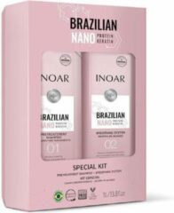 Inoar/Ghair Inoar Nano Proteïne zonder formaldehyde keratine treatment 2x250ml
