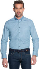 Campbell Casual overhemd met lange mouwen mintgroen