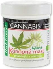 HERB EXTRACT® Kalmerend en Verzorgend Kruidenbalsem met Cannabis Olie - 125ml - geschikt voor problematische, droge, overgevoelige en gestreste huid