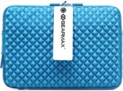 Blauwe GEARMAX Diamond Grain 11.6 inch Sleeve - Blauw