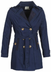Blauwe Trenchcoat Smash ANNABEL
