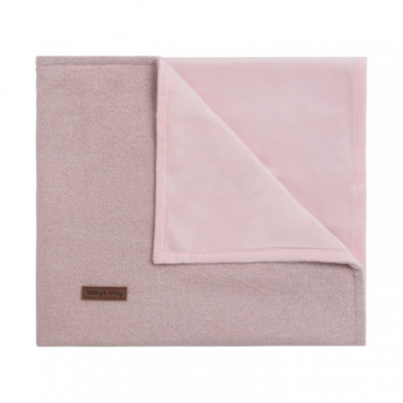 Afbeelding van Baby's Only Sparkle baby wiegdeken 70x100 cm zilver-roze mêlee