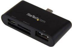StarTech.com On-the-Go USB-kaartlezer voor mobiele apparaten ondersteunt SD- & Micro SD-kaarten