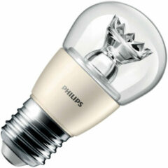 LED-lamp E27 Kogel 6 W = 40 W Warmwit (Ã x l) 48 mm x 93 mm Energielabel: A+ Philips Lighting Dimbaar 1 stuks