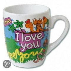Paperdreams Cartoonmok 'i love you ' farm nr.33