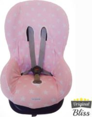 Bliss Maxi cosi hoes - Tobi - Axiss - Pearl - Priori - Autostoel hoes groep 1 (+) - Peuter stoelhoes - Ster Lichtroze