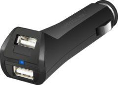 Zwarte Speedlink Tuor USB Auto Oplader - New 3DS XL + New 3DS + 3DS + 2DS