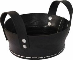 Zwarte Loods28 rubber mand 24x12 cm