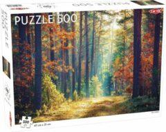 Bruine Tactic legpuzzel herfst bos 47 x 31 cm 500 stukjes