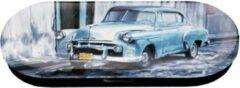 Zwarte Fridolin Brilkoker Cuba classic cars Chevrolet