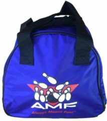 Blauwe AMF Bowlingtas Single 'Strike'