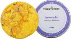 SET HappySoaps Natuurlijke deodorant LAVENDEL & Shampoo Bar CHAMOMILE Vegan, natuurlijk en handgemaakt