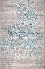 Blauwe Zuiver Vloerkleed Magic - L160 X B230 Cm - Stof - Ocean