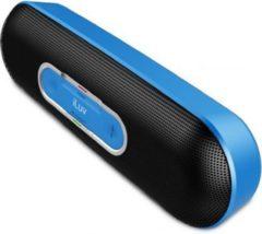ILuv Rollick kompakter Designer Bluetooth Stereo Lautsprecher - blau