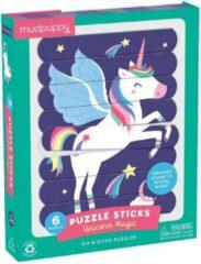Galison Mudpuppy - Puzzel Sticks - Unicorn Magic - Eenhoorn