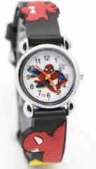 12Getit Spiderman kinderhorloge Zwart